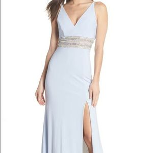 Xscape Light Blue Gown